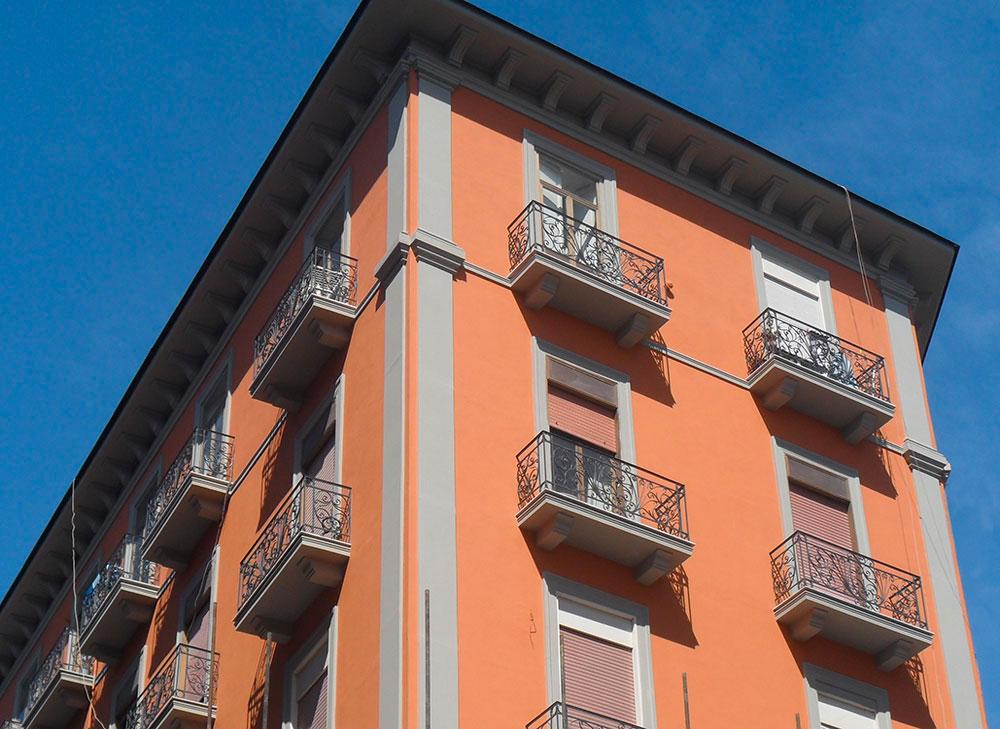 Recupero Storico Facciata Palazzo Salombrino Napoli 1